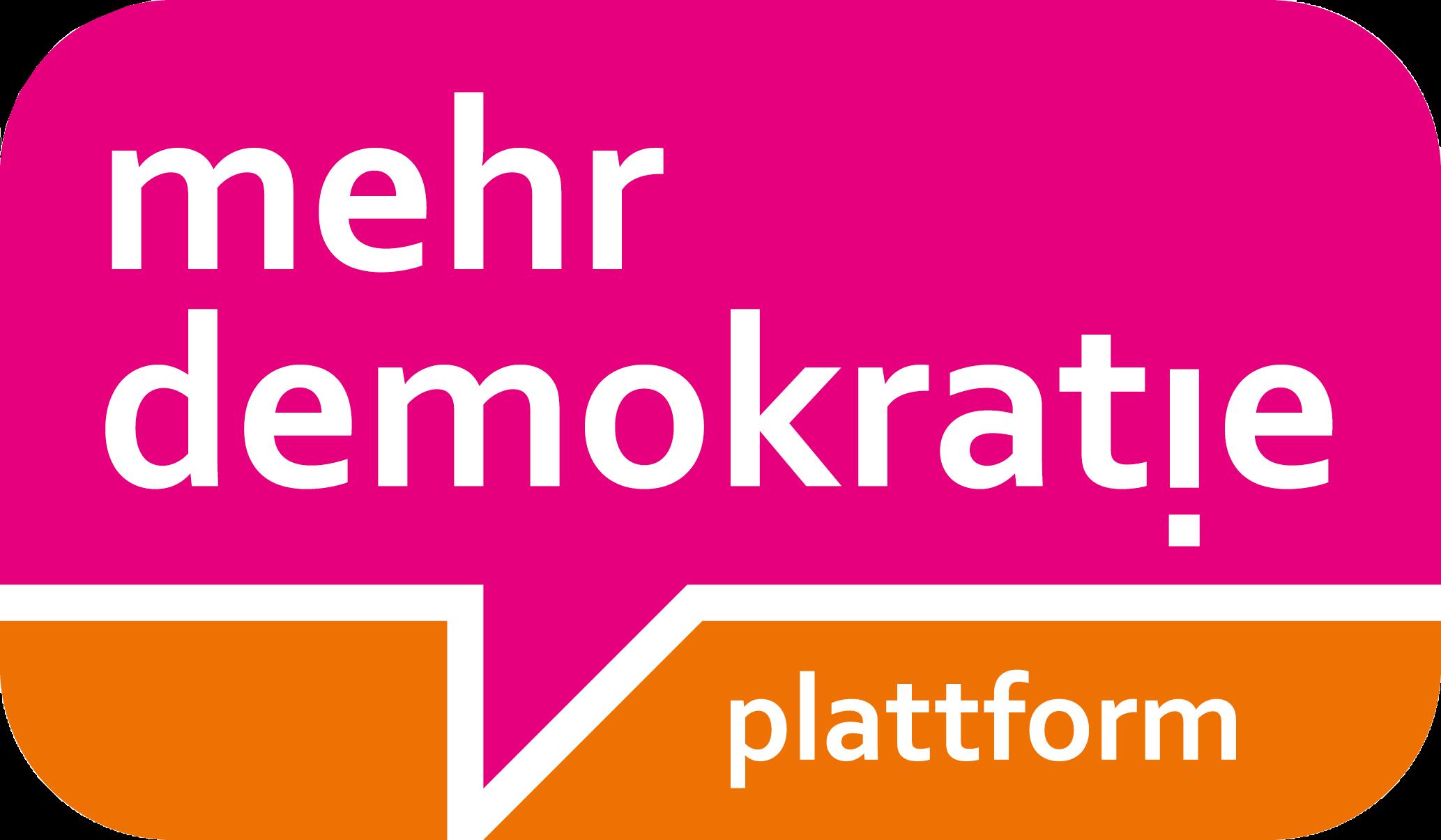 mehr demokratie!